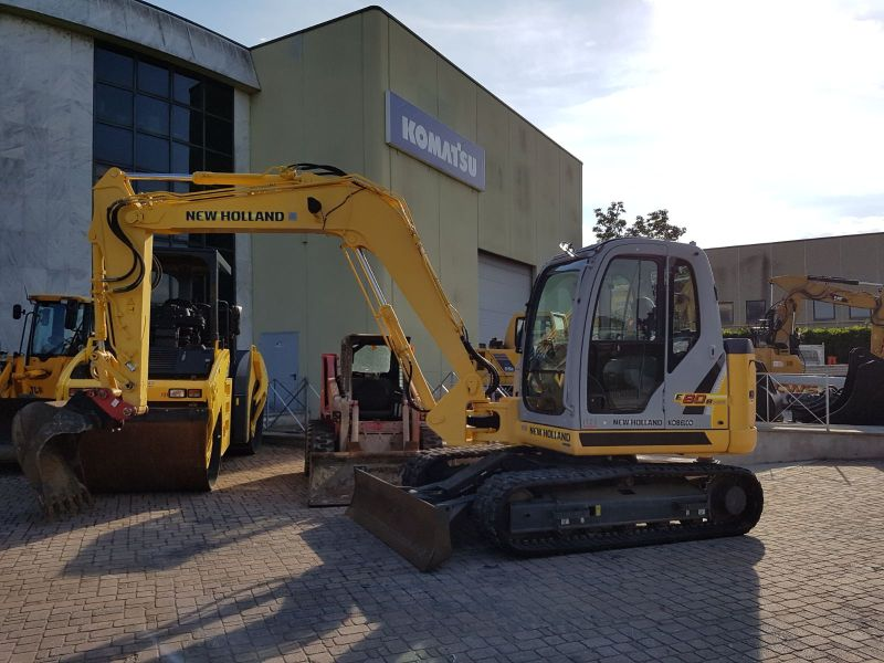 New Holland E80BM