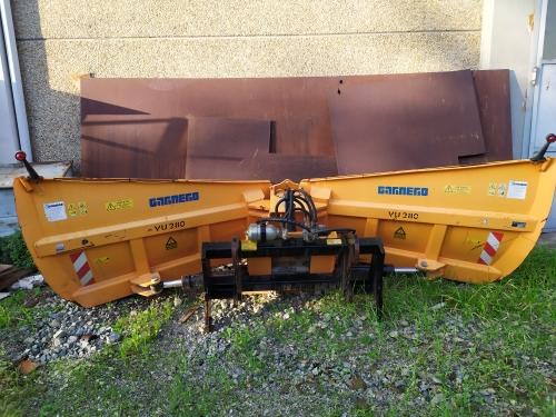 GARNERO VU280 snow plow blade